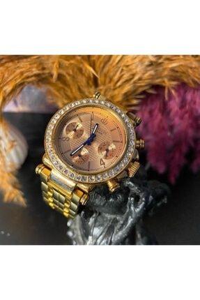 Bigotti Milano Multifoksiyon Çelik Bayan Kol Saati - Gold / Altın