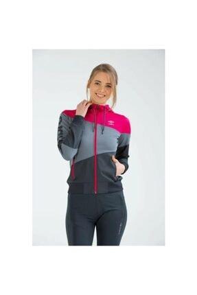 Umbro Tift Sportswear Vc-0006 Fuşya-Gri  Kadın Sweatshirt