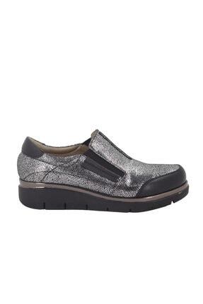 Hobby Platin Deri Günlük Kadın Ayakkabı Yk809