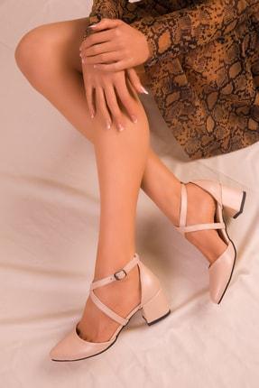 SOHO Ten Mat Kadın Klasik Topuklu Ayakkabı 14392