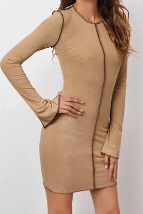 Boutiquen 1505 - Kontrast Dikişli Elbise