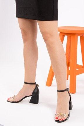 Fox Siyah Kadın Klasik Topuklu Ayakkabı H752115009
