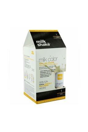 Milkshake Saç Boyası 01 Siyah + Bakım Köpüğü 8681127021974
