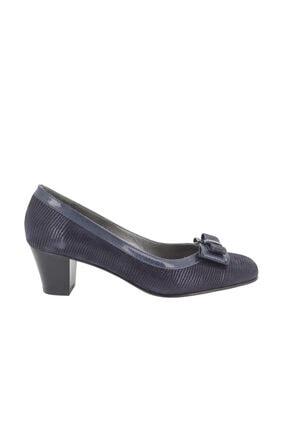 Hobby Kadın Lacivert Topuklu Ayakkabı