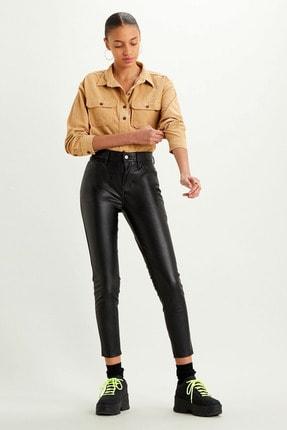 Levi's 720 Kadın Suni Deri Pantolon-leather Night