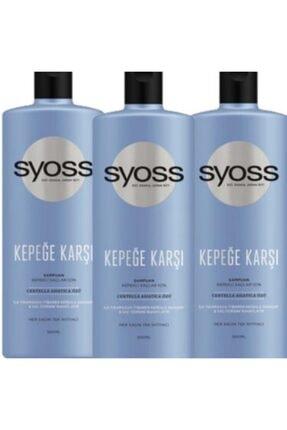 Syoss Kepeğe Karşı Şampuan 500 ml X 3 Adet