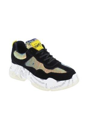 Guja Kadın Siyah Spor Ayakkabı 19k300-2