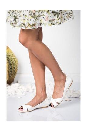 Fox Beyaz Kadın Sandalet 9726109909