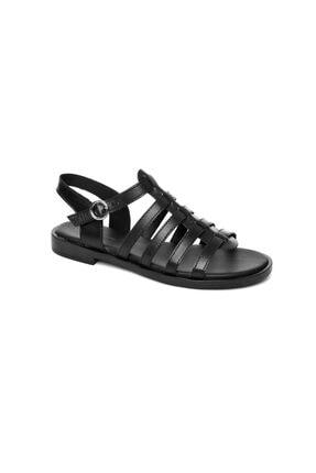 Frau Kadın Siyah Sandalet 85l5