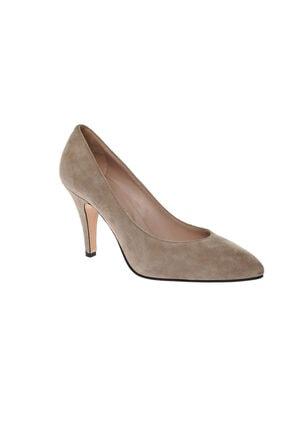Frau Kadın Toprak Rengi Klasik Topuklu Ayakkabı 1FUW2016007