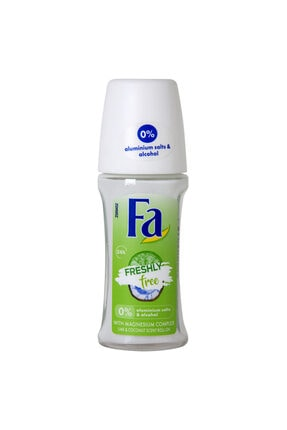 Fa Freshly Free Lime&coconut Roll-on 50 Ml
