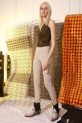 RİVUS Kadın Sigara Paça Slim Pantolon 7414