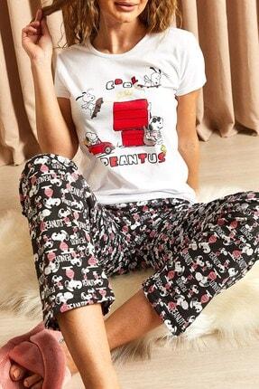 Hadise Kadın  Pijama Takımı Siyah