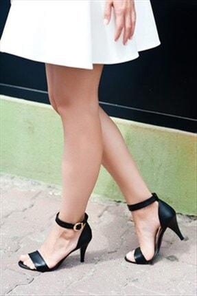 Fox Siyah Kadın Topuklu Ayakkabı 9692051609
