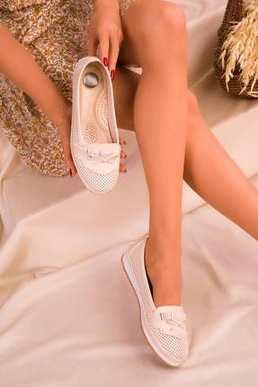SOHO Bej Kadın Casual Ayakkabı 16184