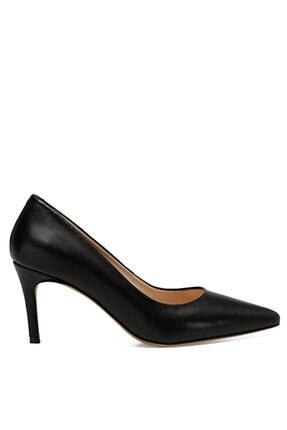 Nine West CAVIR Siyah Kadın Hakiki Deri Topuklu Ayakkabı 100581948