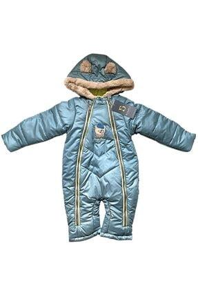 Bombili Unisex Bebek Mint Yeşili Astronot Mont( 6ay-9ay-12ay-18ay)