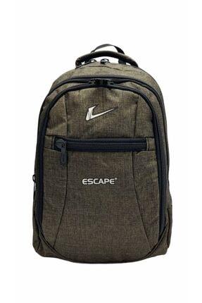 Escape  Unisex Laptop Bölmeli Seyahat Spor ve Okul Sırt Çantası