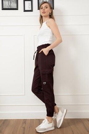 D-Paris Kadın Kargo Cep Pantolon