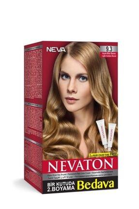 Neva Ton Kalıcı Krem Saç Boyası 9.3 Altın Sarısı