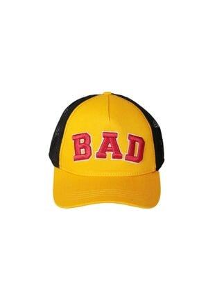 BAD BEAR Unisex Sarı Fileli Şapka 19.02.42.006