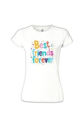 Lord Kadın Beyaz Bff Best Friends Forever Iı Tsihrt