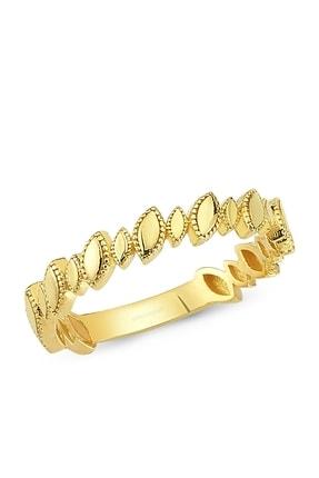 Altın Sepeti Altın Badem Modeli Yüzük