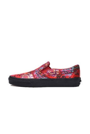 Vans Kadın Kırmızı Sneaker  Vn0a38f7ulp