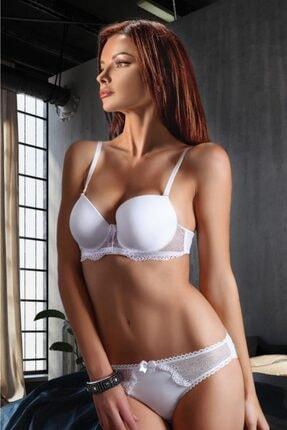 Miorre Kadın Beyaz Sütyen Külot Takım