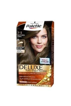 Palette Saç Boyası 7-3 Küllü Yoğun Kumral