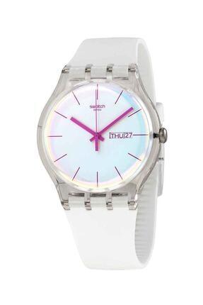 Swatch  Kadın Beyaz Kol Saati SUOK713