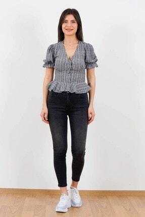 Fashion Friends Trisiss Fashıon Frıends Kadın Jean Pantolo Siyah