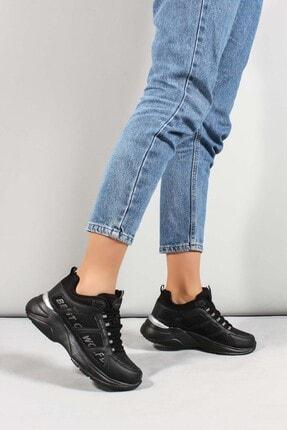 Fast Step Unisex Siyah Sneaker Ayakkabı 923za076bst