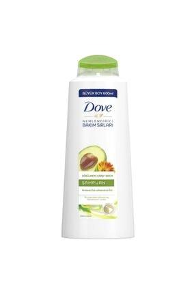 Dove Avokado Kalendula Özlü Şampuan 600 ml