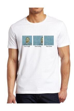 Köstebek Art - Van Gogh Van Goghing Van Gone Unisex Tişört