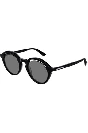 Alexander McQueen Kadın Siyah Güneş Gözlüğü Mq0155s 001