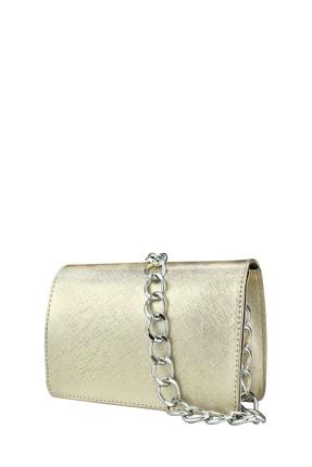 Housebags Kadın Altın Zincirli Çapraz Çanta 169