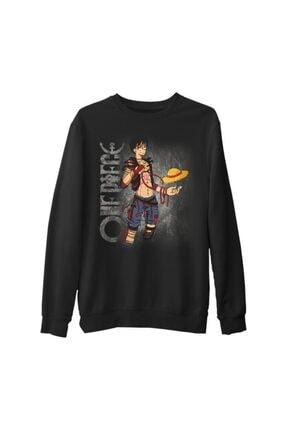 Lord Unisex Siyah One Piece Sweatshirt