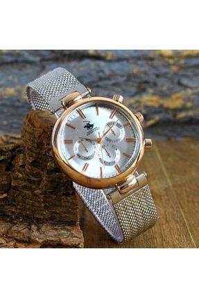G-Sport Polo Kadın Gümüş Kol Saati