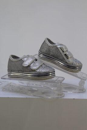Sanbe Kadın Gümüş Ayakkabı