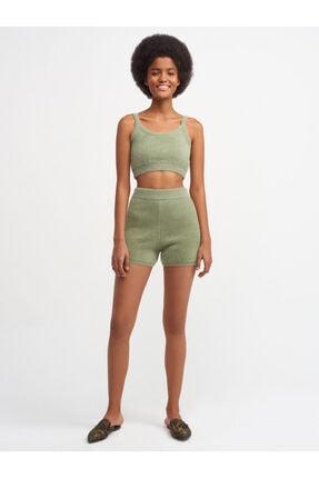 Dilvin Kadın Yeşil Şort 2730