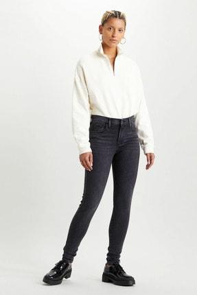 Levi's Kadın 720 Yüksek Bel Süper Skinny Kadın Jean Pantolon-Smoked Out 5279701850