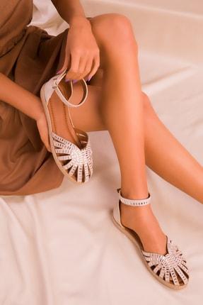 SOHO Ten Süet Kadın Sandalet 16155