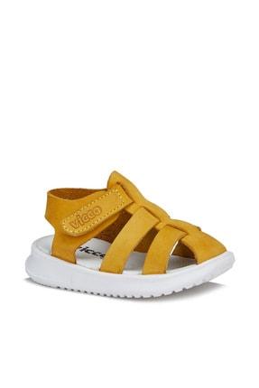 Vicco Pisa Unisex Ilk Adım Sarı Sandalet