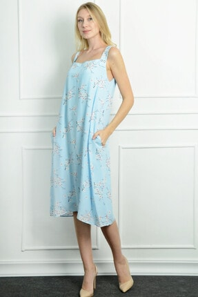 Herry Kadın Mavi Elbise 20dmy1724