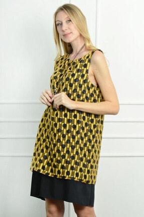 Herry Kadın Sarı Elbise 20dmy1707