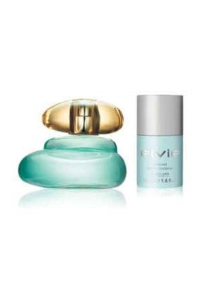Oriflame Elvie Edt 50 Ml Kadın Parfümü + Elvie Roll-on Deodorant-50 Ml