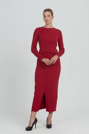Stamina Kadın Kırmızı Etek
