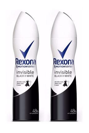 Rexona Kadın 150 ml Invısıble Black&Whıte 2 Adet Deodorant