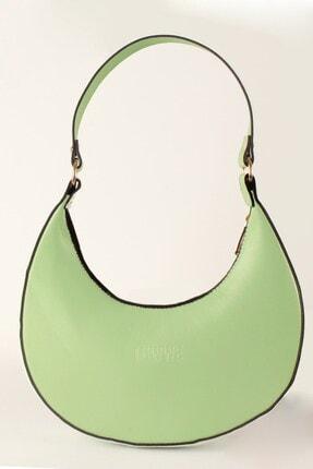 Luwwe Bag's Kadın Yeşil Yuvarlak Çanta